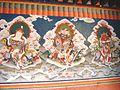 Mural painting at Dechenphodrang Temple, Thimphu, Bhutan.JPG
