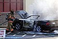 Mustang car fire at CVS on Key West Highway in North Potomac MD July 12 2012 (7575602582).jpg