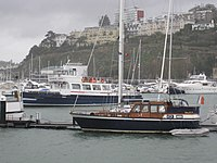 Left: MV Dartmouth Castle. Right: Lightship 2000
