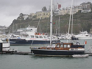 Philip and Son - Image: Mv Dartmouth Castle laid up in Torquay