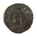 Mynt av silver. 2 öre. 1592 - Skoklosters slott - 109081.tif