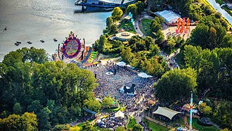 Mysteryland - The Main stage of Mysteryland 2018