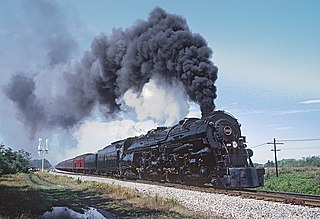Norfolk and Western 1218 Preserved N&W class A locomotive