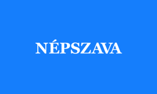 <i>Népszava</i> Hungarian language newspaper