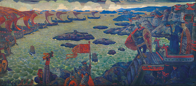 File:N. Roerich - Ready for the Campaign (The Varangian Sea) - Google Art Project.jpg