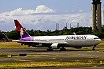 N580HA Boeing 767-33A Hawaiian Airlines (15180543333).jpg