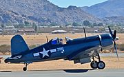 N83782 Vought-Sikorsky F4U-1A Bu No 17799 Corsair - Planes of Fame Air Museum (14937696574).jpg