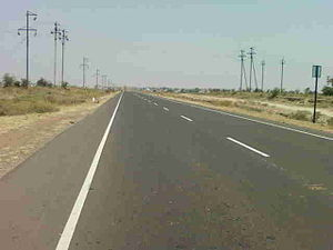 Akola - National Highway No. 6 passes through Akola.