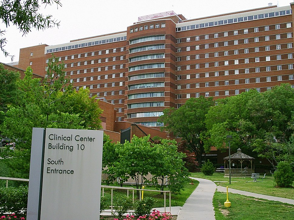 NIH Clinical Center south entrance