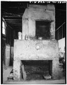 NORTH FIREPLACE - Dr. Peter Fayssoux House, Kitchen Building, 126 Tradd Street, Charleston, Charleston County, SC HABS SC,10-CHAR,322A-3.tif
