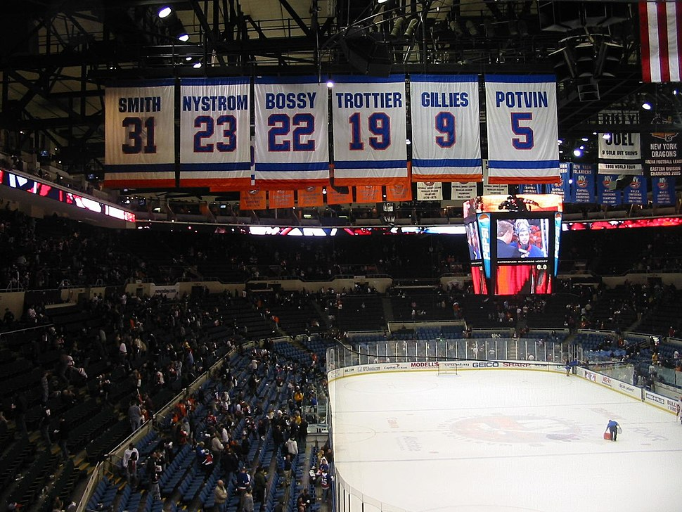 NYI Retired numbers 1