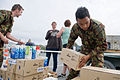 NZ Army Engineers distribute supplies a New Brighton Beach after Christchurch Earthquake - Flickr - NZ Defence Force.jpg