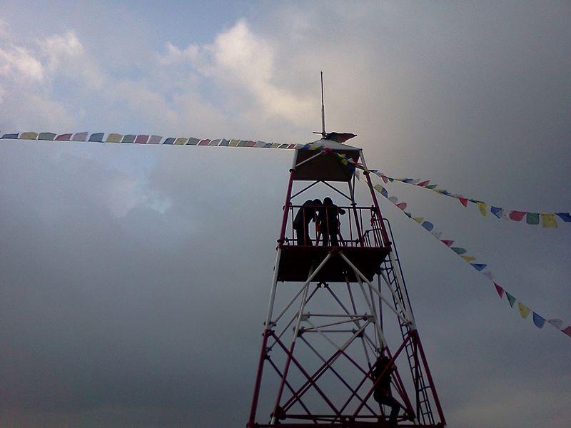 File:Nagarkot Geodic Survey Tower Nagarkot Nepal.jpg