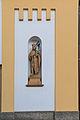 Nahořany socha svatého Václava na kostele.jpg