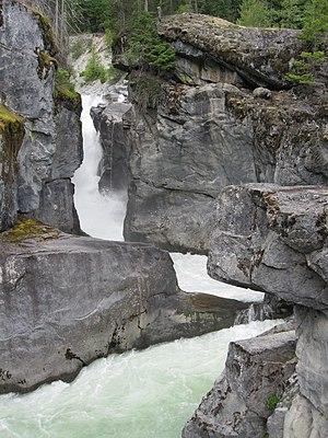 Pemberton, British Columbia - Nairn Falls, Green River, Nairn Falls Provincial Park