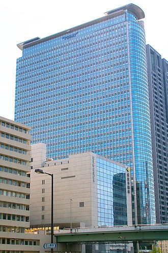 Toray Industries - Image: Nakanoshima Mitsui bldg 01