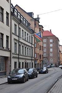 Namibian Embassy in Sweden.   JPG