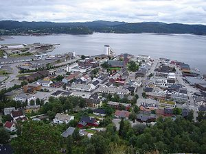 Namsos (town) - The town center