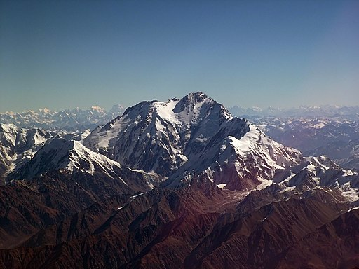 Nanga Parbat from air