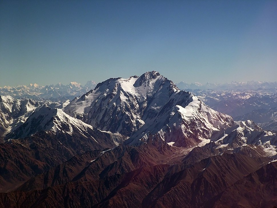Nanga Parbat from air