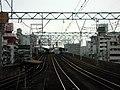 Nankai Imamiyaebisu Station platform - panoramio (20).jpg