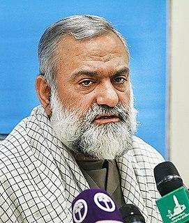 Mohammad Reza Naqdi commander of Basij paramilitary force of Islamic Republic of Iran