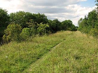 Narborough Railway Line - Image: Narborough Railway Line 2