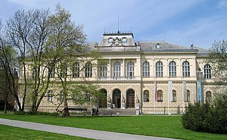Slovenian Museum of Natural History - The museum building in Ljubljana that hosts the Natural History Museum of Slovenia and the National Museum of Slovenia