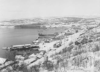 Ofoten Line - The Port of Narvik in 1924