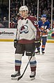 Nathan MacKinnon playing with the Avalanche in 2020 (Quintin Soloviev).jpg