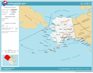 Geography Of Alaska Wikipedia