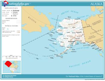 Géographie de l'Alaska — Wikipédia