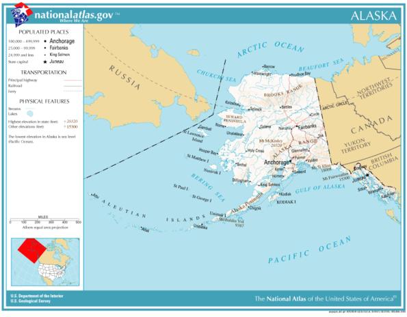 Atlas Of Alaska  Wikimedia Commons