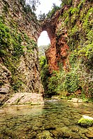 Natural Bridge Akchour near Chefchaouen, Morocco.jpg