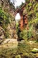 Natural Bridge Akchour near Chefchaouen, Morocco.jpg