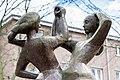 Naumannplatz (Hamburg-Dulsberg).Skulptur 'Tanzende Mädchen'.3.30933.ajb.jpg