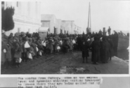 Near East Relief Armenian orphans waiting to transport to Greece