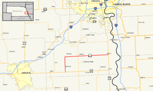 Nebraska Highway 1 - Image: Nebraska Highway 1