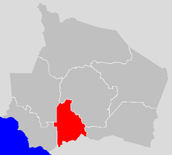 Vị trí của Huyện Rembau