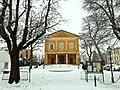 Nella neve il teatro.JPG