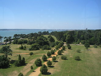 Hampshire - Southampton from Netley Hospital