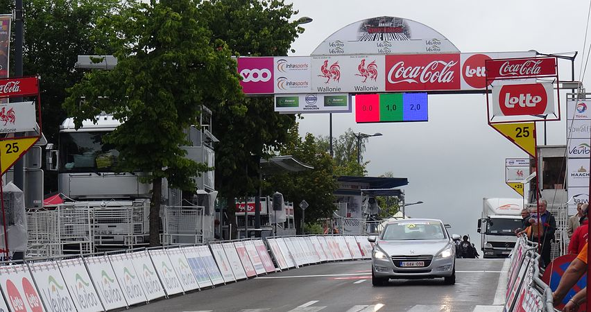 Neufchâteau - Tour de Wallonie, étape 3, 28 juillet 2014, arrivée (A12).JPG