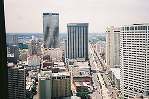 New South - New Orleans, Louisiana skyline