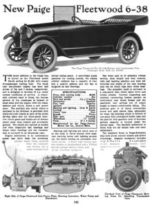 First Choice Automotive >> Paige automobile - Wikipedia