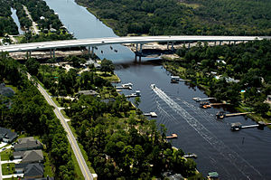 Ponte Vedra Beach, Florida - Image: New Palm Valley Bridge