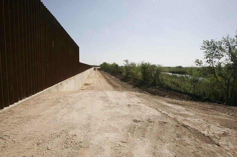 File:New border line wall.jpg