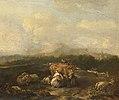 Nicolaes van Helt Stockade - Italiaans landschap met vee - SK-A-1926 - Rijksmuseum.jpg