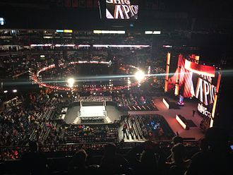 Night of Champions (2014) - The Bridgestone Arena interior prior to the pay-per-view beginning