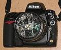 Nikon D700 defekter B+W Filter UV 010 und Objektiv 28–85 mm KW 2009 03 010.jpg