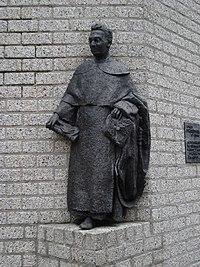 Nimègue, statue Titus Brandsma.JPG